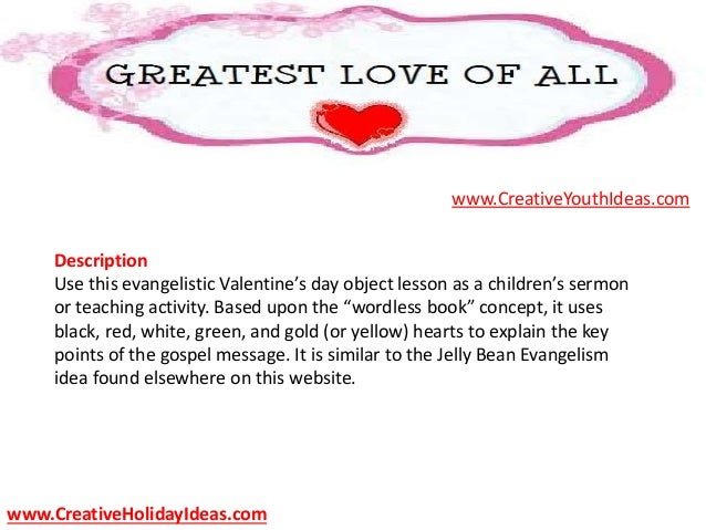 CreativeHolidayIdeas.com; 3. Description Use This Evangelistic Valentineu0027s  Day ...