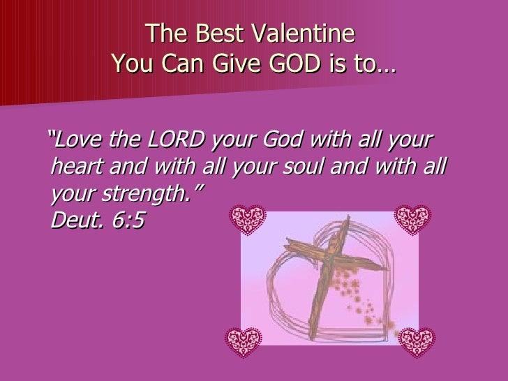 Christian Valentines Day Animated Powerpoint for Church