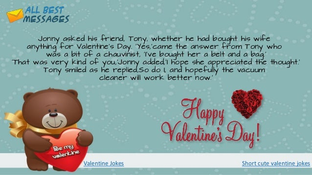 Valentines Day Jokes Riddles And One Liners Short Cute Valentine