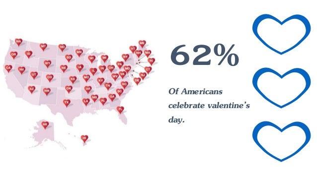 Schön 62% Of Americans Celebrate Valentineu0027s Day.