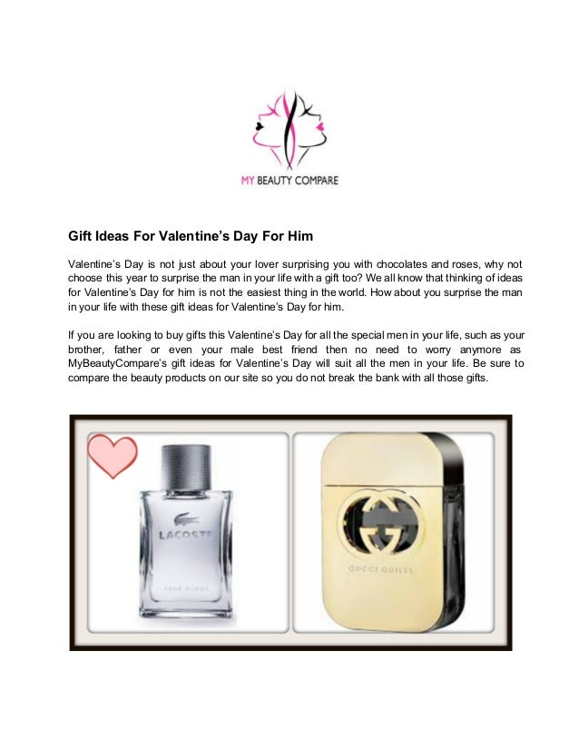 Valentine S Day Gift Ideas For Him