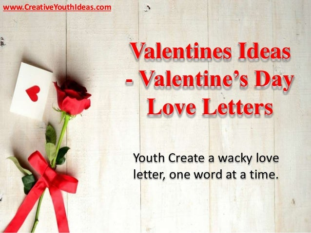 Valentines Ideas Valentine S Day Love Letters