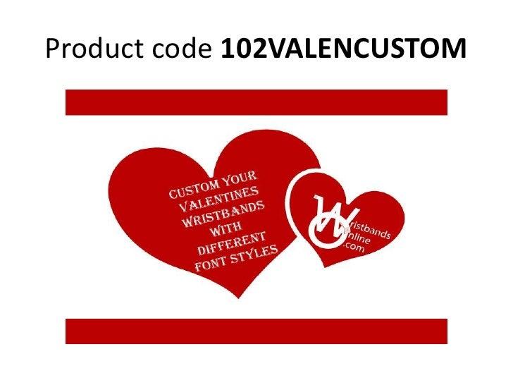 Product code 102VALENCUSTOM<br />