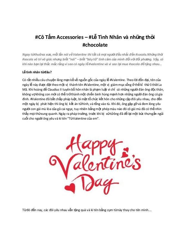 #Cô Tấm Accessories – #Lễ Tình Nhân và nhữ thỏi ng #chocolate Ngay từthuở xa xư mỗi lần nói về Valentine thì tất cả mọi ng...