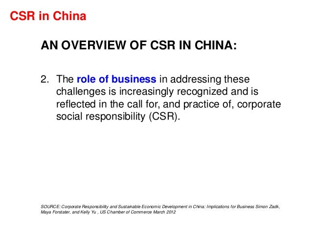 csr in china Csr asia improves sustainability practices through consultancy, thought leadership, events and professional networks.
