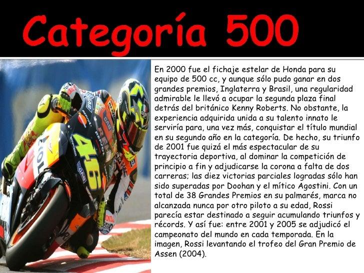 Categoría 500<br />En 2000 fue el fichaje estelar de Honda para su equipo de 500 cc, y aunque sólo pudo ganar en dos grand...