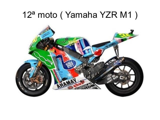 12ª moto ( Yamaha YZR M1 )