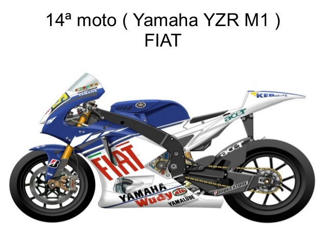14ª moto ( Yamaha YZR M1 ) FIAT