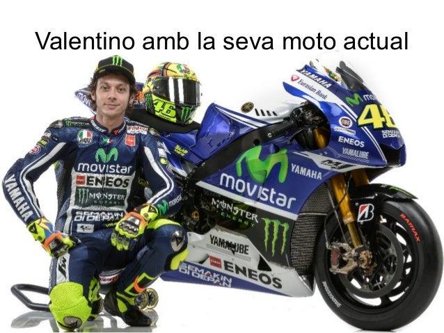 Valentino amb la seva moto actual