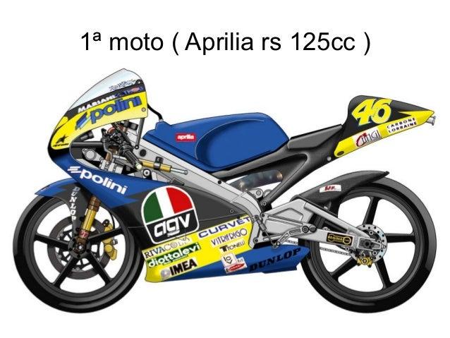 1ª moto ( Aprilia rs 125cc )
