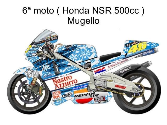 6ª moto ( Honda NSR 500cc ) Mugello
