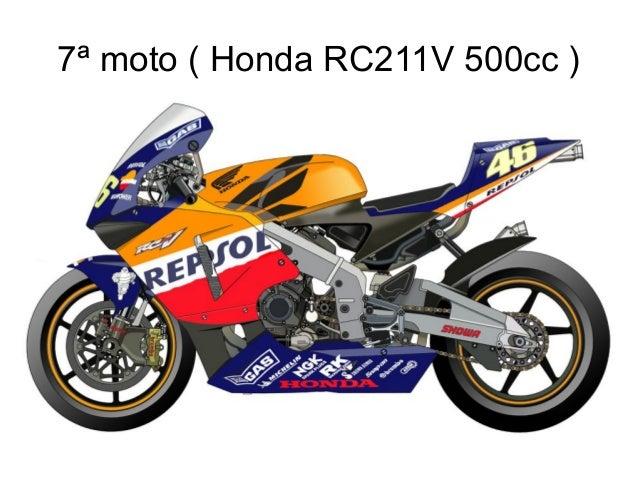 7ª moto ( Honda RC211V 500cc )