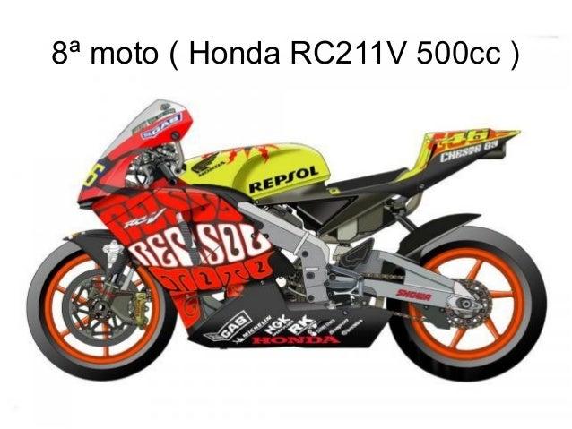 8ª moto ( Honda RC211V 500cc )
