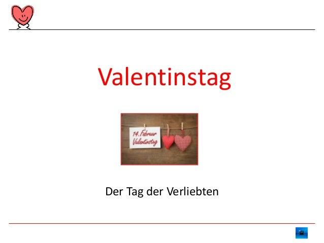 Valentinstag  Der Tag der Verliebten