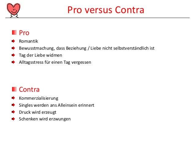 Beziehung Pro Contra