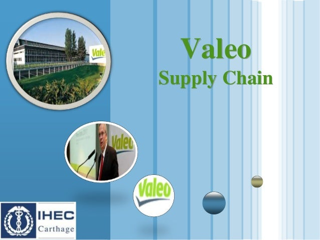 www.themegallery.com LOGO Valeo Supply Chain