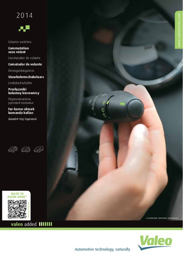 2014  Column switches  Commutation  sous volant  Conmutador de volante  Comutador de volante  Devioguidasgancio  Stuurkolo...