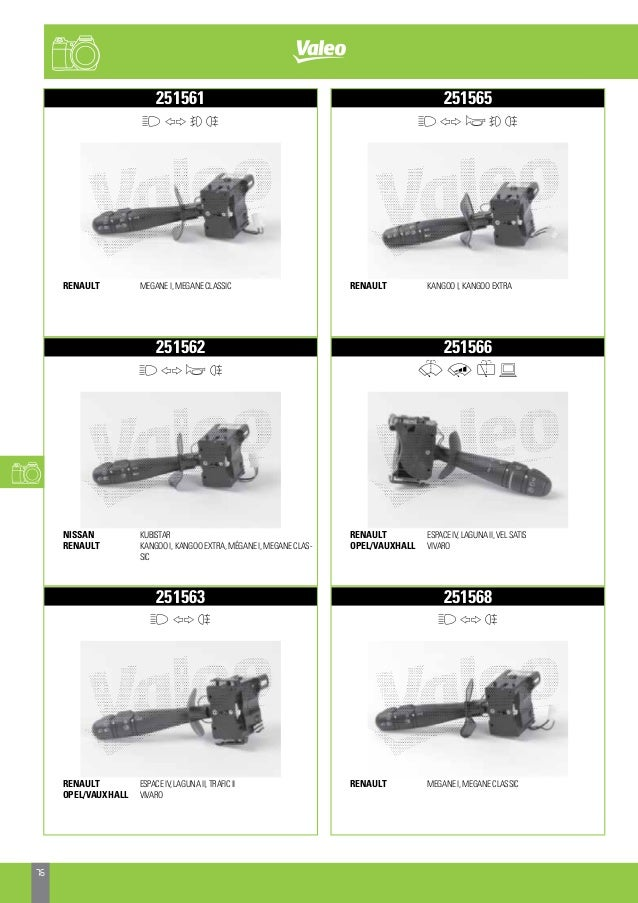 Steering Column Switch 251562 Black Brand New