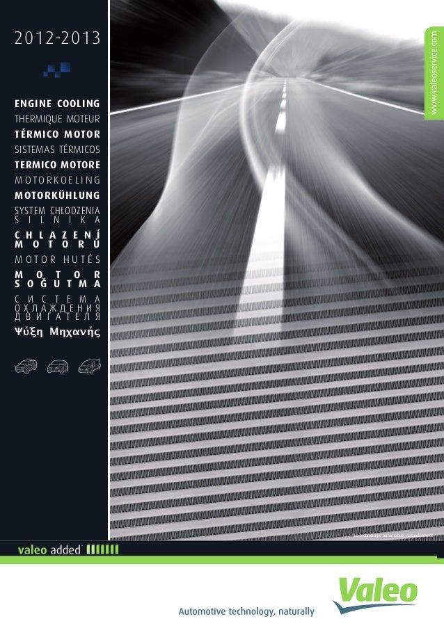 2012-2013 ENGINE COOLING THERMIQUE MOTEUR TÉRMICO MOTOR SISTEMAS TÉRMICOS TERMICO MOTORE M O T O R K O E L I N G MOTORKÜHL...