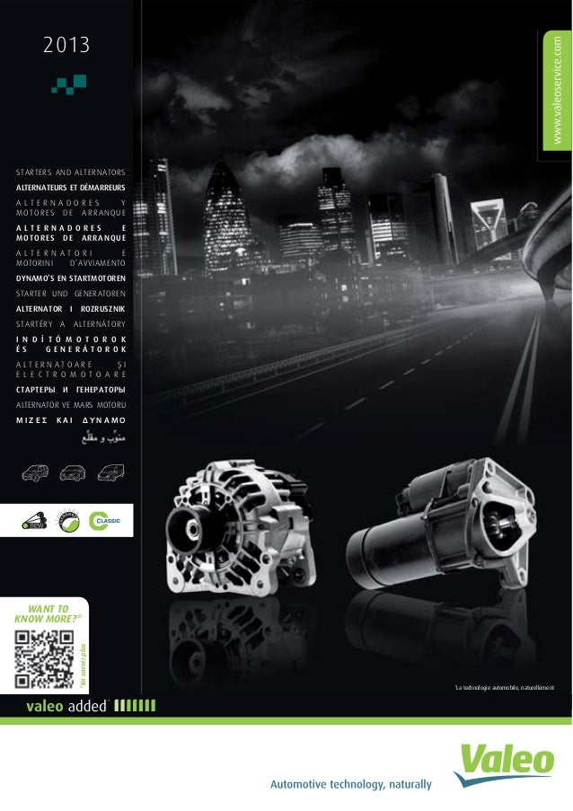 valeo starters alternators 2013 catalogue 941346 rh slideshare net