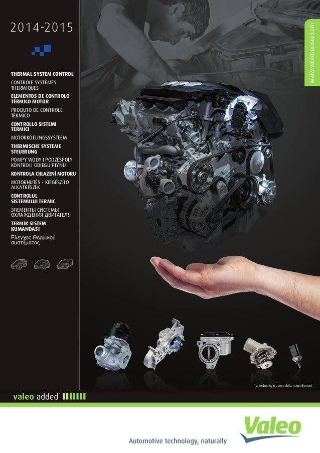 2014-2015 *La technologie automobile, naturellement THERMAL SYSTEM CONTROL CONTRÔLE SYSTÈMES THERMIQUES ELEMENTOS DE CONTR...