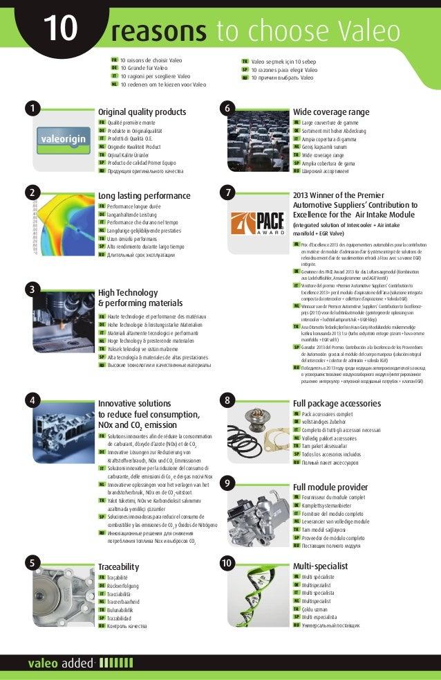 Valeo agr-válvula 700449 para Mercedes-Benz nissan Opel Renault