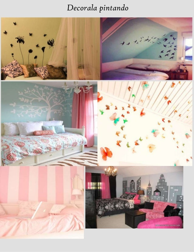 Ideas para decorar tu habitacion for Imagenes como decorar tu cuarto