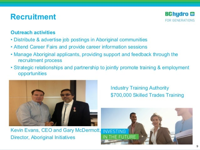 Aboriginal Education and Employment Strategy - BC Hydro
