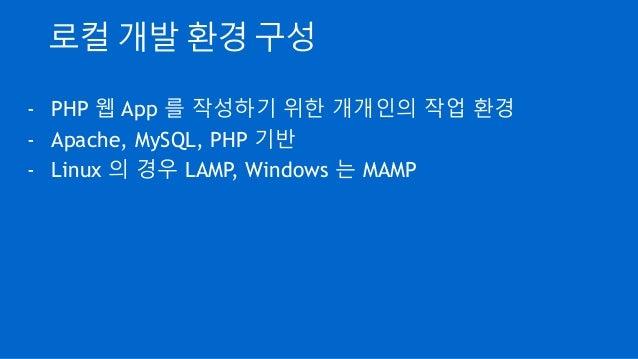 Valet 으로 windows php 개발 환경 구성하기 Slide 2