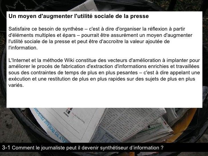 """""""La valeur de l'information Ecrite"""" :  Part 2 (Courts Circuits)"""