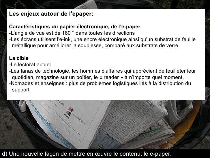 Les enjeux autour de l'epaper: Caractéristiques du papier électronique, de l'e-paper -L'angle de vue est de 180 ° dans tou...