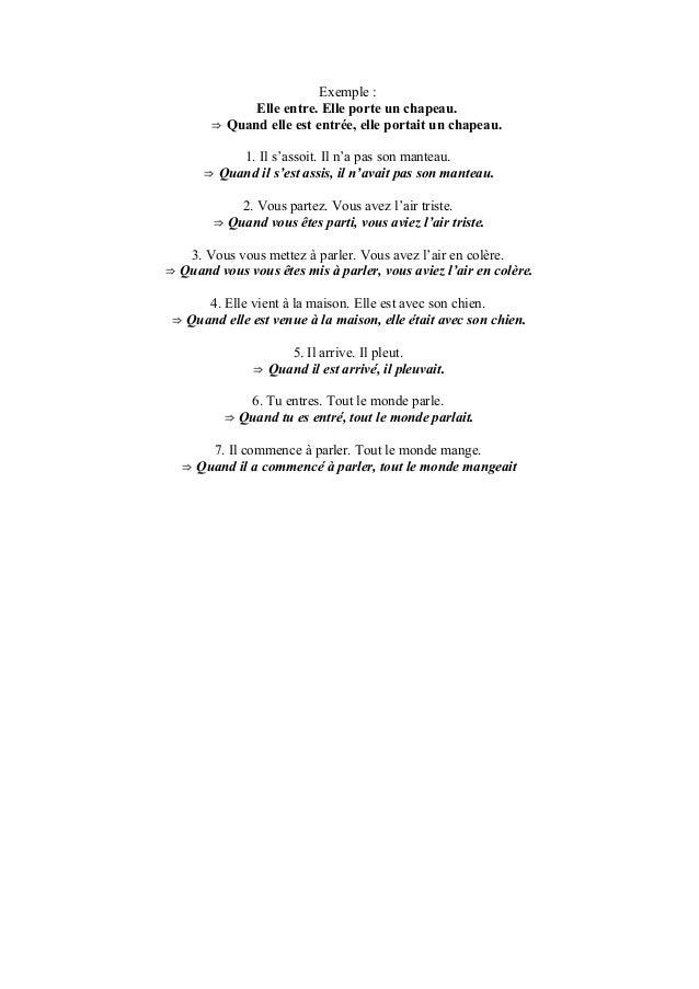 Valeurs de l 39 imparfait pass compos for Porte imparfait