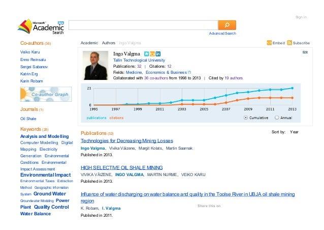 Sign in  Advanced Search  Co-authors (36)  Embed  Academic Authors Ingo Valgma  Veiko Karu  Ingo Valgma  Enno Reinsalu  Ta...