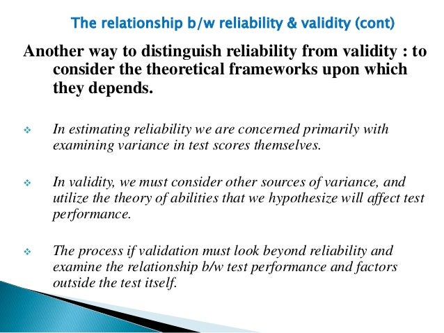 language tests reliability and validity Test, you have to determine if your test is practical,valid and reliable learn  more about reliability, validity and practicality in this language assessment  article.