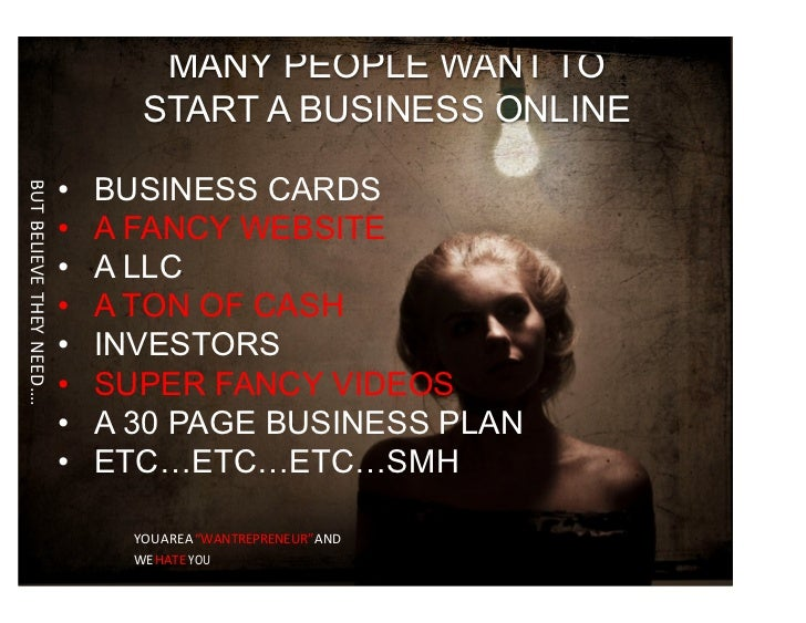 Start an online business this weekend 5 steps 21 many people want to start a business online business cards but believe they need a fancy website a llc a ton of cash investors super malvernweather Images