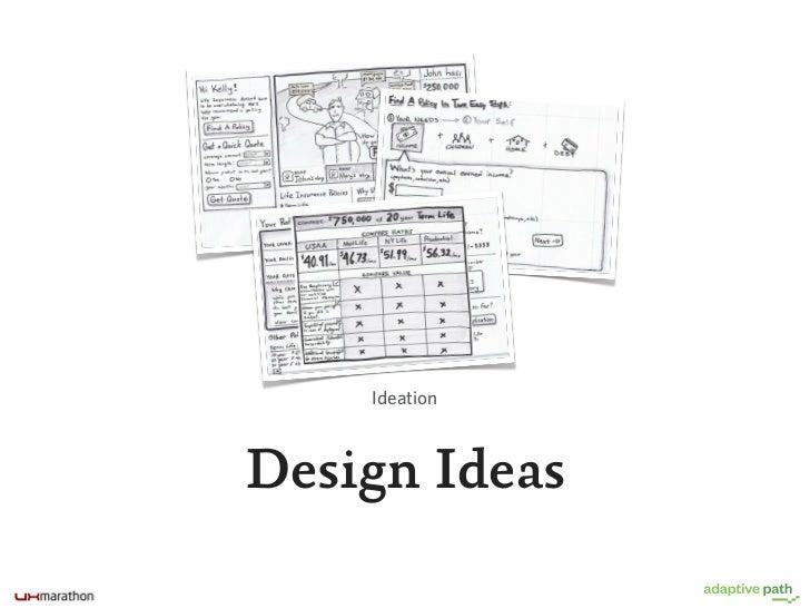 Validating Ideas Through Prototyping