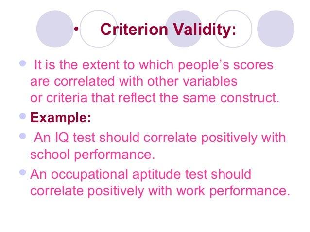 Validity Its Types Measurement Factors