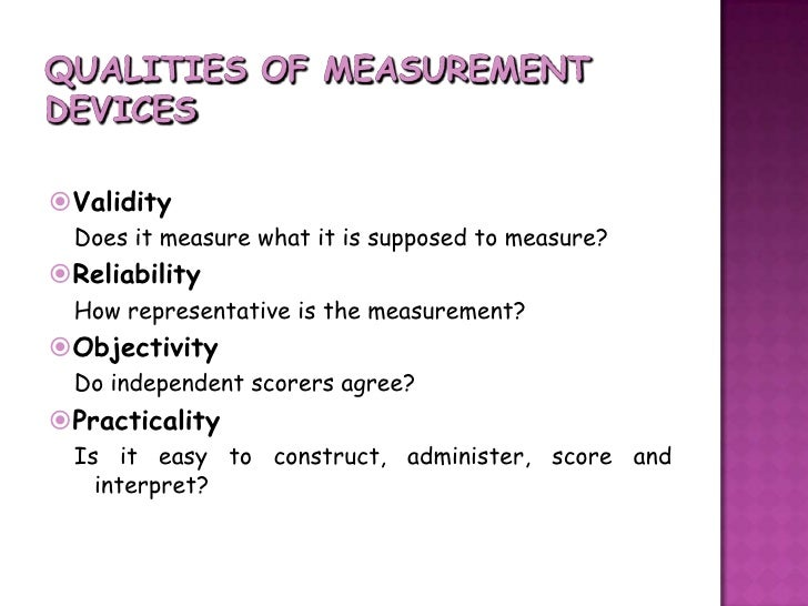 reliability, validity and accuracy essay Reliability is a vital component of a trustworthy  think of reliability as a measure of precision and validity as a measure of accuracy in some.