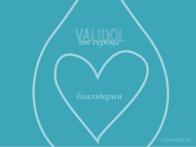 Validol Production