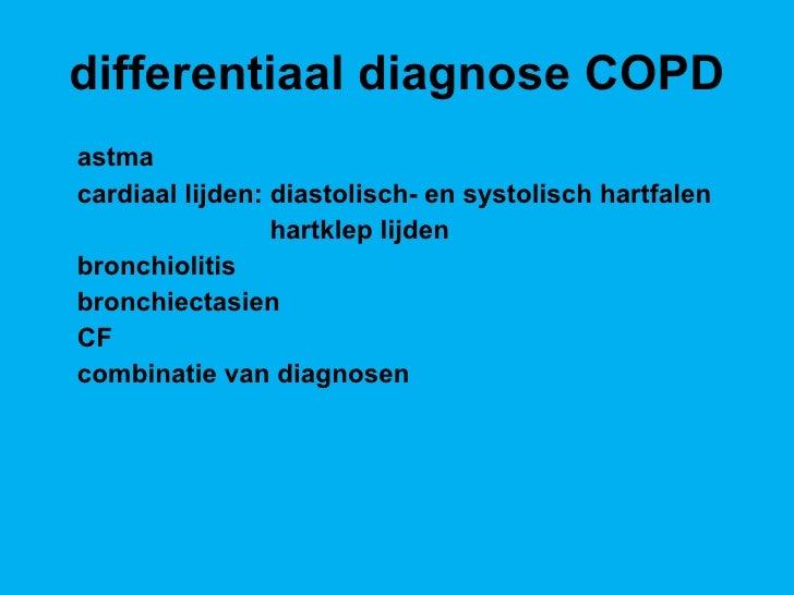 differentiaal diagnose dyspnoe