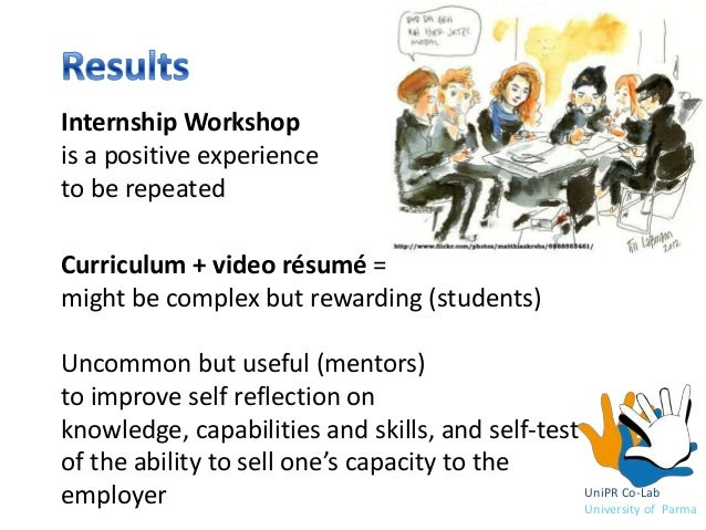 internship self reflection An intern's experience of clinical supervision in group work with substance abusers  an honest reflection of self as well as self through the therapeutic process .