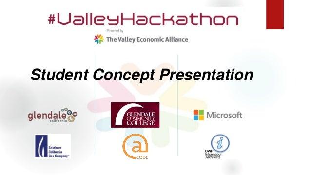 Student Concept Presentation
