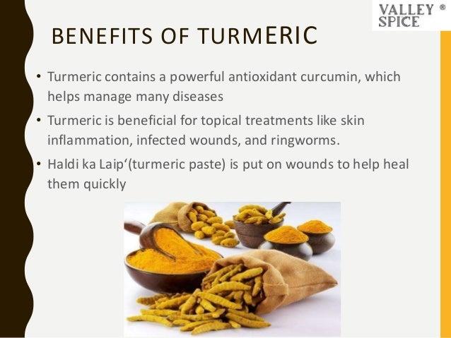 VALLEYSPICE - Health Benefits Of Turmeric