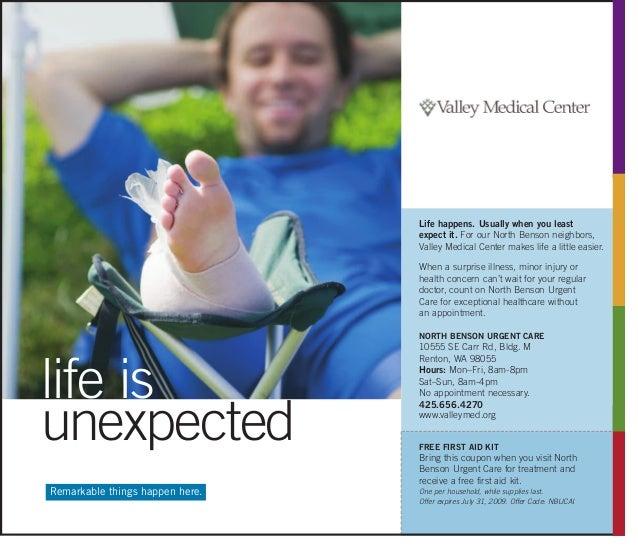 Vmc Urgent Care Ad Campaign