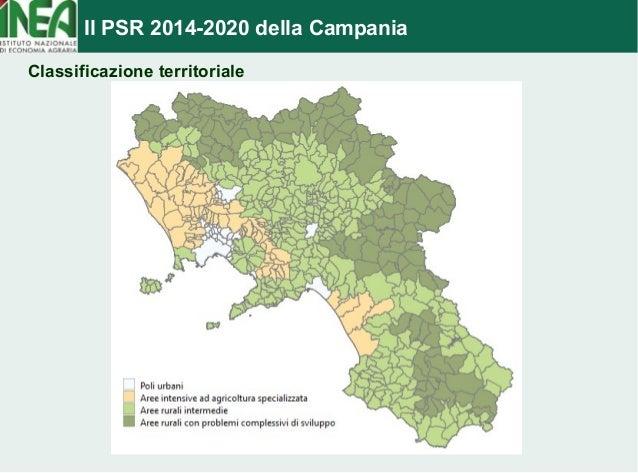 Il PSR 2014-2020 della Campania  Classificazione territoriale