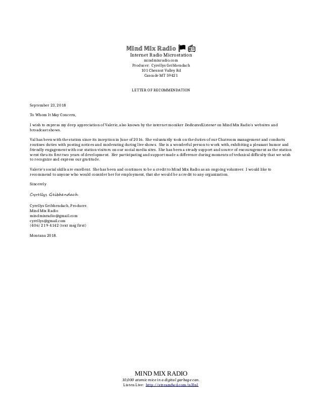 Letter Of Recommendation For Volunteer from image.slidesharecdn.com