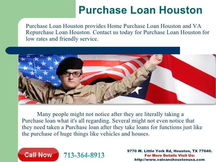 VA Loan Houston | Home Loan Houston | FHA Loan Houston ...