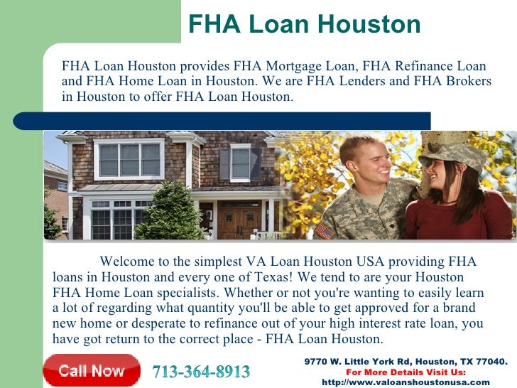 VA Loan Houston | Home Loan Houston | FHA Loan Houston | Jumbo Loan H…