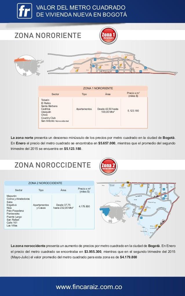 Valor metro cuadrado bogot mayo julio 2015 - Precio metro cuadrado microcemento ...
