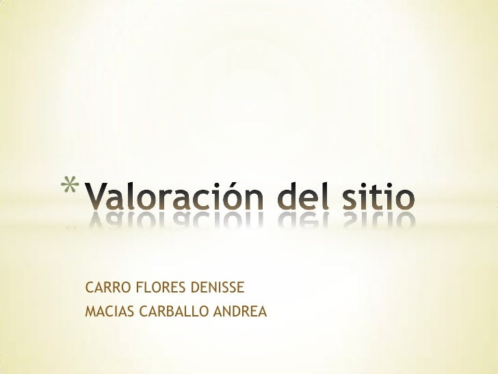 *    CARRO FLORES DENISSE    MACIAS CARBALLO ANDREA